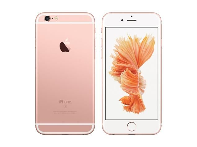 Apple iPhone 6S 128GB розовый