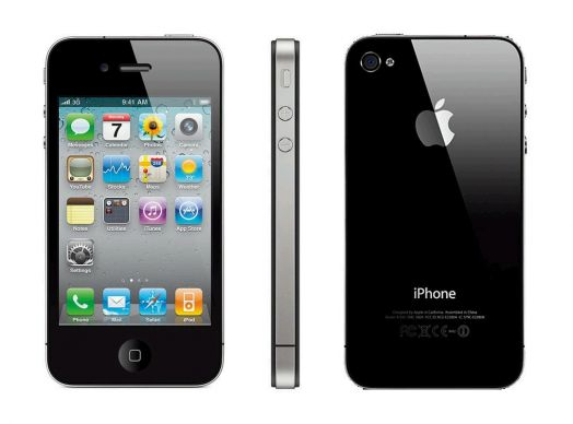Apple iPhone 4S 16GB черный